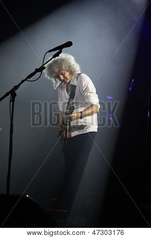 Queen Perform Onstage During Charity Concert In Kyiv