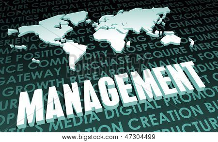 Management Industry Global Standard on 3D Map
