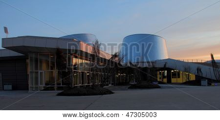 Planetarium At Sunrise