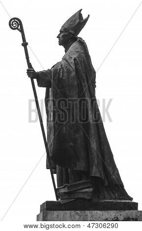 Sculpture Of A Pope