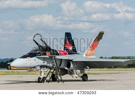Royal Canadian Air Force (rcaf) Cf-18, Canadian Paint.