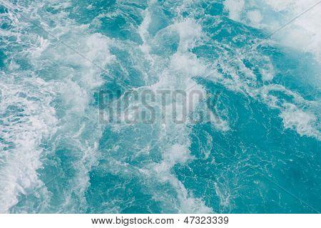 foamy water background