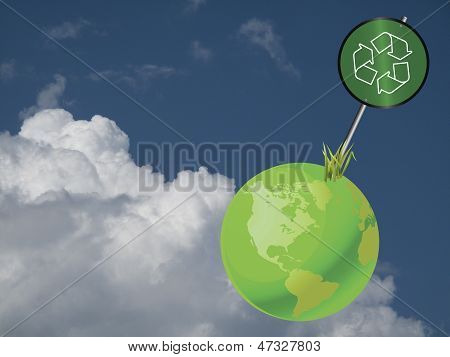Earth sign recycle