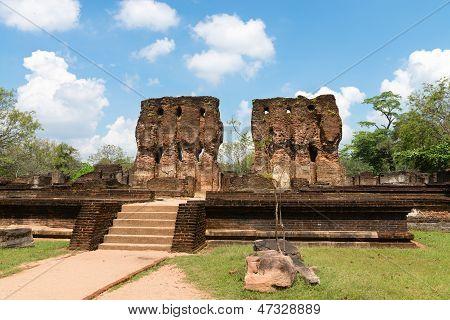 Ancient Ruins Of Royal Palace
