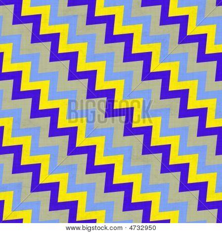 Vibrant Diagonal Stairs Pattern