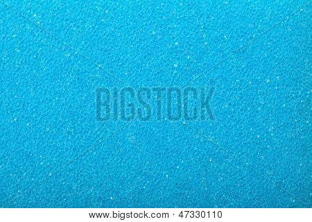 Blue Texture Cellulose Foam Sponge Background