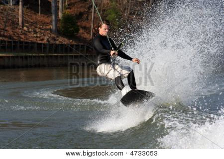 Wakeboard Lean