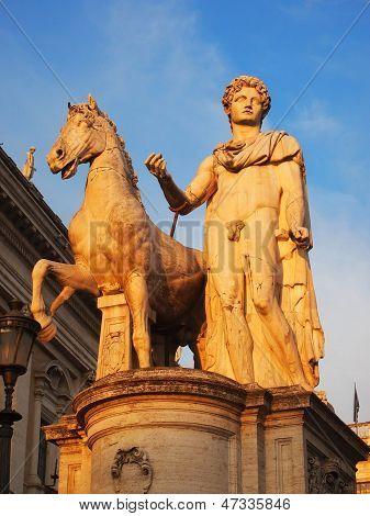 Dioscuri Statue at Capitoline Hill, Rome
