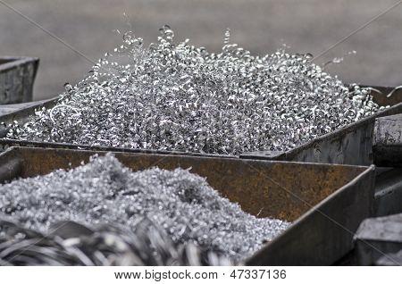 Aluminum swarfs