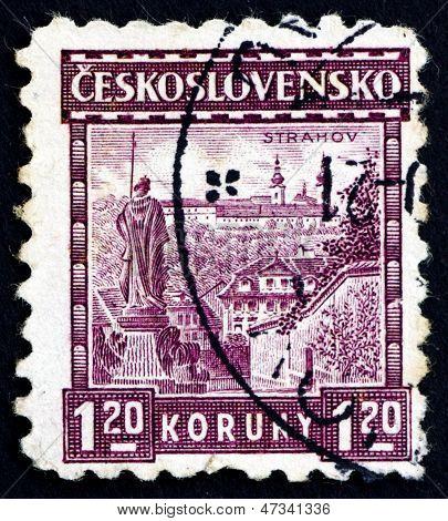Postage Stamp Czechoslovakia 1926 Strahov Monastery