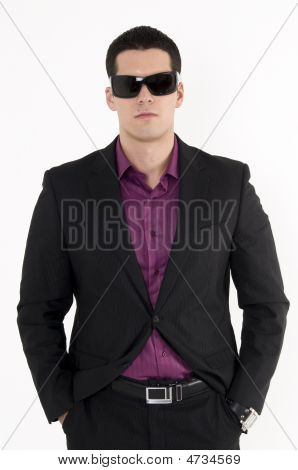 Young Man With Sunglasses
