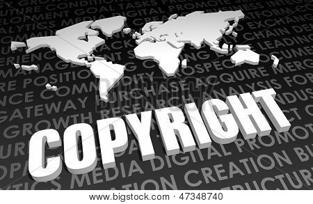 Copyright Industry Global Standard on 3D Map