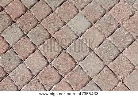 Brick Walkway Background Texture