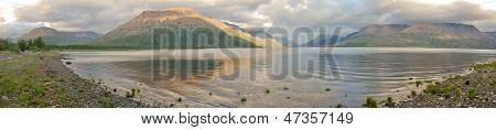 Panorama Of The Lake Lama
