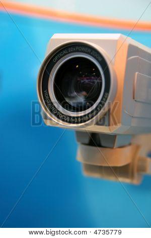 Video Camera Lens.