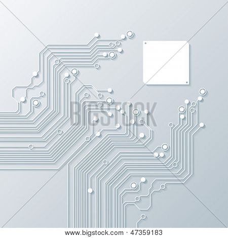 abstract background vector high tech