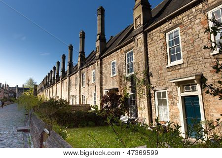 Vicars Close Wells Somerset, England