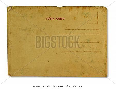 Antique Postal Card