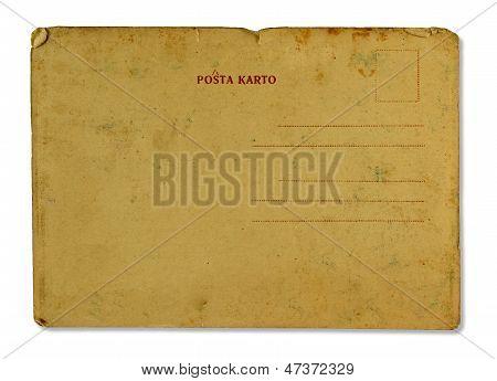 Antique Postal Card
