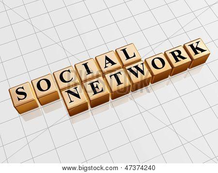 Social Network - Golden