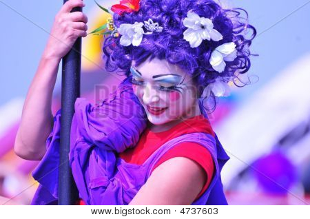 A Female Art Performer