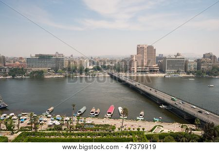 View of Cairo city