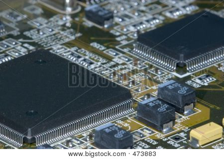 Motherboard Closeup