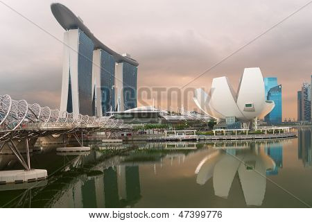 Modern Architecture In Singapore City