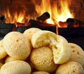 stock photo of cassava  - cheese bread - JPG