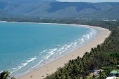 Sunny Port Douglas Beach And Coastline poster