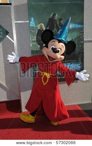 Mickey Mouse at the