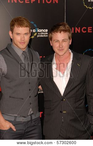 Kellan Lutz and Richard Reid at the