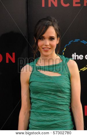 Ellen Page at the