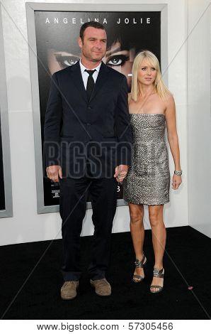 Liev Schreiber, Naomi Watts at the