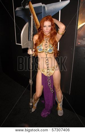 Phoebe Price  at the annual Slave Leia Group Photo at ComicCon, San Diego Convention Center, San Diego, CA. 07-23-10