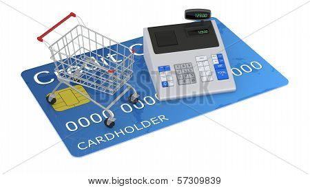 Shopping With Credit Card