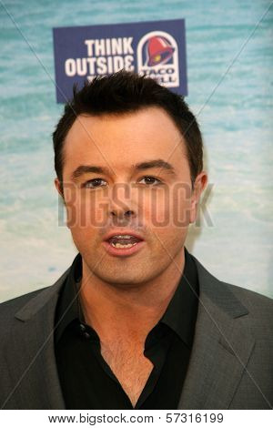 Seth MacFarlane  at the Comedy Central Roast of David Hasselhoff, Sony Studios, Culver City, CA. 08-01-10