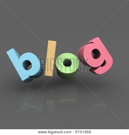 Internet Blog Concept