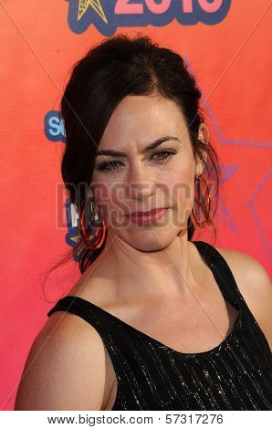 Maggie Siff at the FOX TCA All Star Party, Santa Monica Pier, Santa Monica, CA. 08-02-10