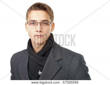 Portrait Of Elegant Young Man