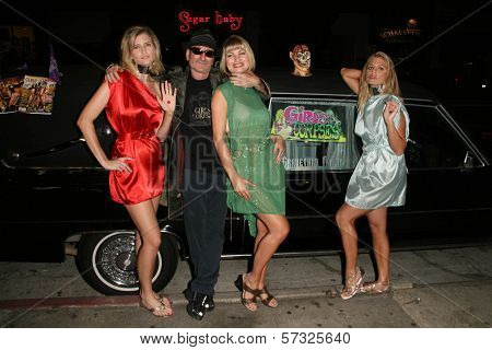 Ashley King, Robert Rhine, Rena Riffel, Bridgetta Tomarchio at the Girls and Corpses Magazine Summer Alien Autopsy Issue Party, Meltdown Comics, Hollywood, CA. 08-20-10