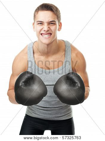Angry Young Boxer