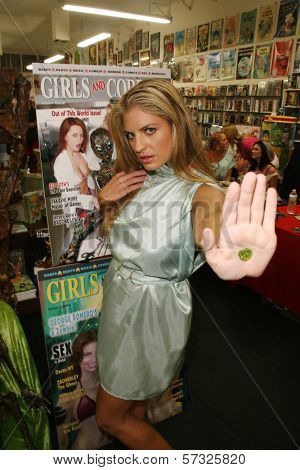 Bridgetta Tomarchio at the Girls and Corpses Magazine Summer Alien Autopsy Issue Party, Meltdown Comics, Hollywood, CA. 08-20-10