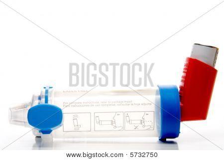 Asthma-Inhalator Verlängerungsrohr