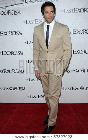 Eli Roth  at a Special Screening of