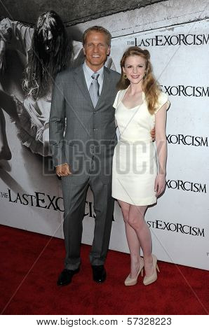 Patrick Fabian, Ashley Bell at a Special Screening of