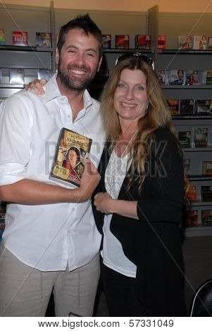 James Cox and Dawn Schiller at a signing for Dawn Schiller's The Road Through