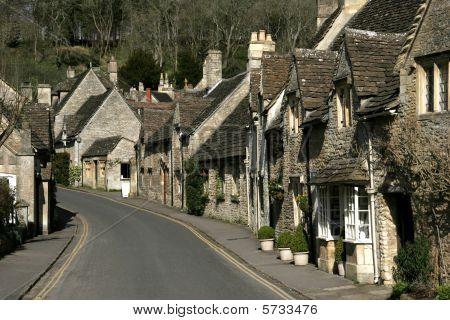 Castle Combe village main street
