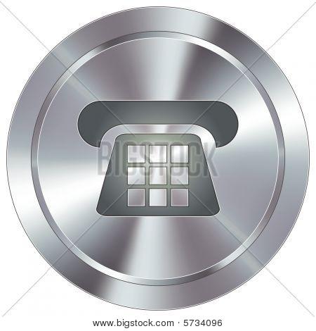 Modern Telephone Button