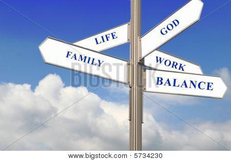 Vida, trabalho e equilíbrio
